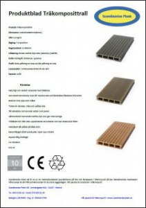 Ladda ner vårt produktblad på träkomposittrall