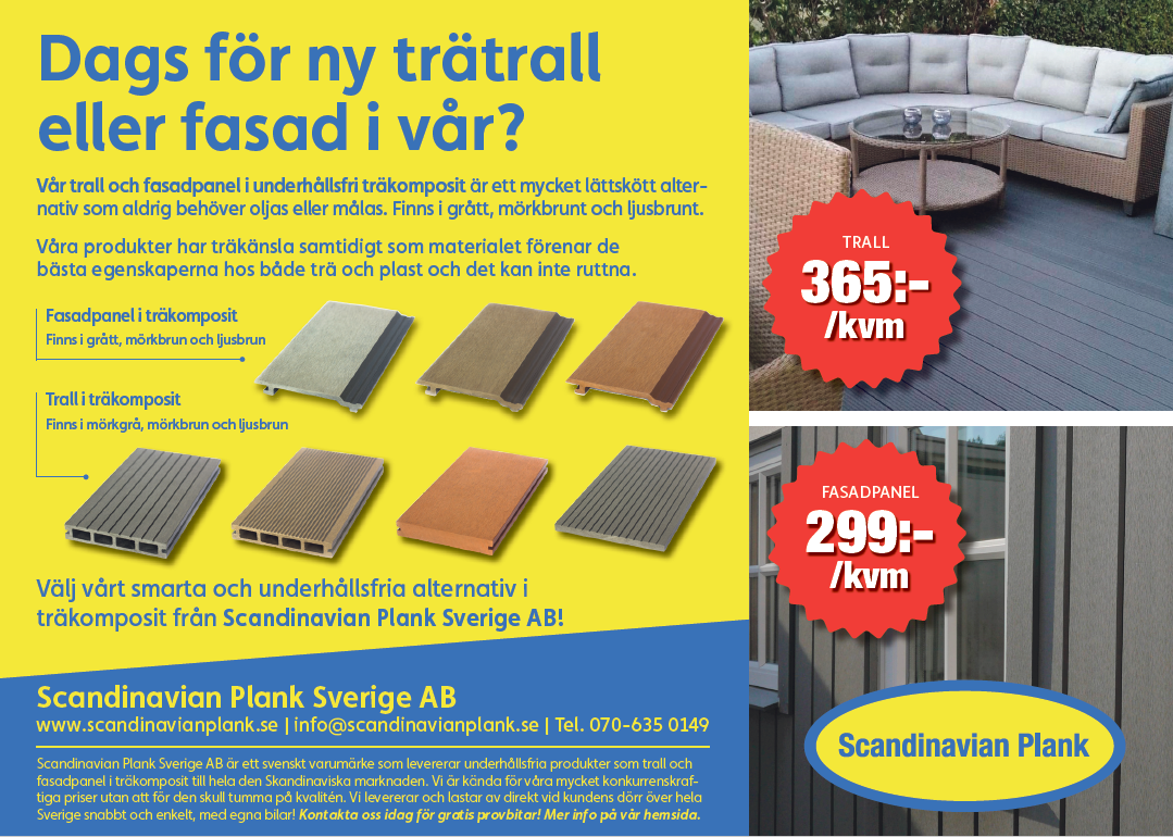 Ladda ner annons Trall / fasadpanel 2020