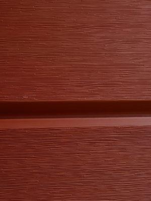 Faluröd fasadpanel